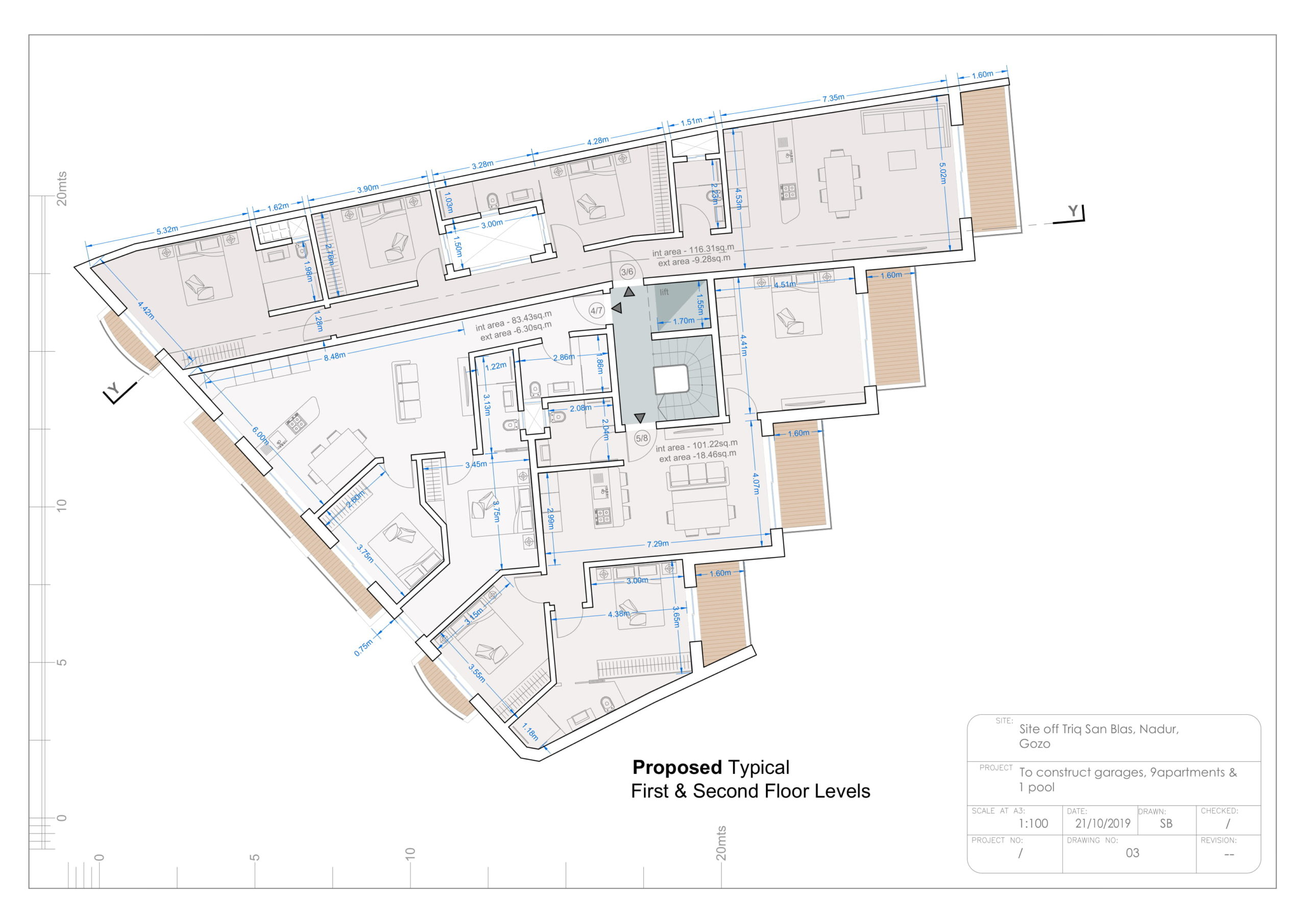 Dwg 03 - Proposed Typical Floor Levels-1