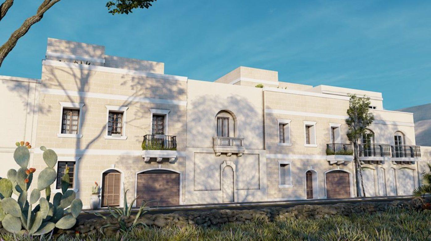 Xaghra Terraced Houses